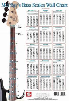 Bass Scales Wall Chart Best Electric Guitar For Beginners музыка контрабас
