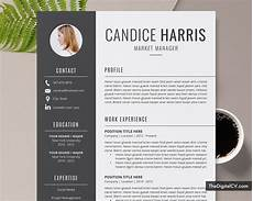 Professional Creative Resume Professional Resume Template For Ms Word 2020 2021 Cv