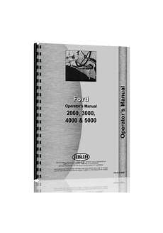 Ford 3000 Tractor Manuals Service Repair Owners Parts