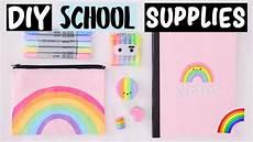 diy rainbow school supplies hacks everyone should