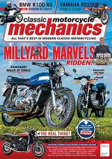 Motorcycle Mechanics Classic Motorcycle Mechanics August 2018 By Mortons Media