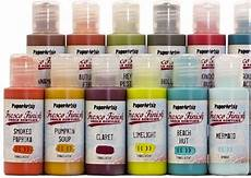 fresco finish paints by paperartsy new colors