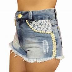 shorts feminino shorts cintura alta feminino p 233 rola e