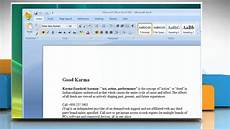 Template Microsoft Word 2007 Microsoft 174 Word 2007 How To Print A Document In Windows