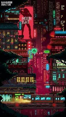 cyberpunk city iphone wallpaper pixel city 2560x1440 oc wallpapers