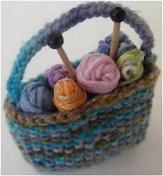miniature knitting bag pattern allfreeknitting