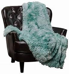 chanasya faux fur sherpa throw blanket color variation