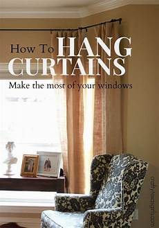 How To Hang Curtains Properly Crafty Best Of February