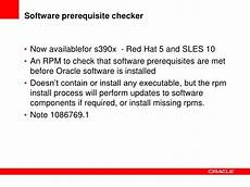 Oracle Support Update For Linux And Z Os On Ibm System Z
