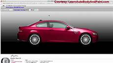 Car Color Design How To Paint A Car Online Youtube