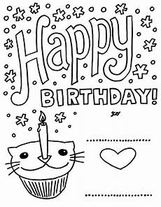 greeting card coloring pages at getcolorings free