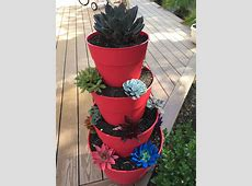 Hometalk   How to Make A Tiered Succulent Planter