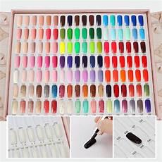 Cnc Gel Polish Color Chart Segbeauty 126 Colors Professional Nail Polish Colors Chart