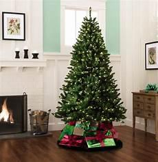 7 5 Foot Dual Light Christmas Tree Color Switch Plus 7 5 550 Dual Color Led Pre Lit Cortland