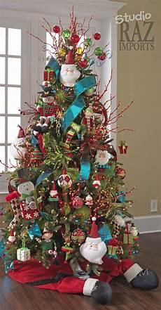 Christmas Tree Decorating Ideas With Multicolor Lights Multi Colored Christmas Tree Colorful Christmas Tree