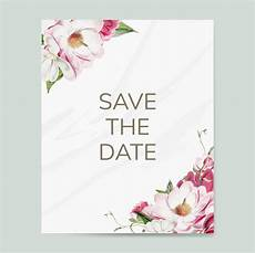 Wedding Save The Date Invitations Save The Date Wedding Invitation Mockup Vector Download