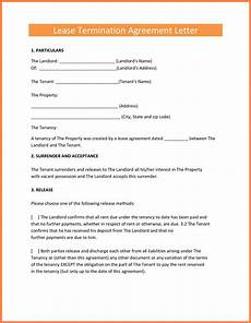 Lease Termination Template 9 Termination Of Lease Agreement Marital Settlements