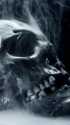 black and white wallpaper iphone skull smoke wallpaper hd for iphone 76 images