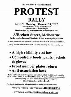 Protest Flyer Template Damien Codognotto Oam Protest Run 5