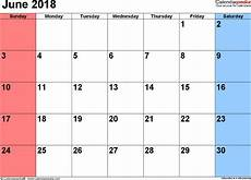 Charts May 2018 June 2018 Calendar Templates For Word Excel And Pdf
