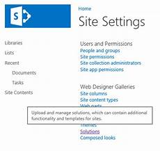 Sharepoint Solution Gallery Sharepoint 2013 Hosting Integrate Ms Dynamics Crm 2015