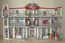 Playmobil Ausmalbilder Shopping Center Playmobil Shopping Mall 5485 And 5486 Custom Built A