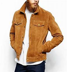 Light Brown Suede Jacket Mens Men S Brown Suede Leather Jacket Slim Fit Biker Motorcycle