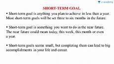 Short Term Career Goals Examples Objectives Hindi Commonly Asked Questions On Career Related Plans