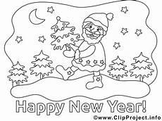Neujahr Malvorlagen Neujahr Ausmalbild