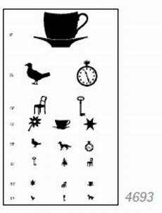 Visual Acuity Picture Chart Visual Acuity Charts For Distance Pictures For Children