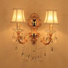Candle Sconce Light Fixtures Bathroom Light Mirror Wall Light E14 Candle Crystal Wall