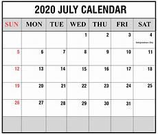 July 2020 Calendar Printable Blank Calendar 2020 Template Printable Template Calendar