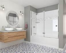 home depot bathroom tile ideas delta upstile semi customizable shower collection bath