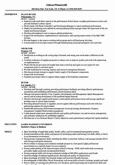 Sample Buyer Resume Buyer Resume Samples Velvet Jobs