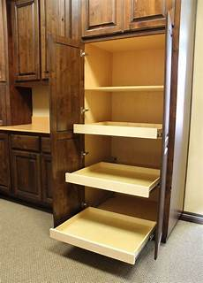 pull out shelves burrows cabinets central