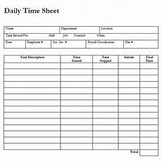 Time In Time Out Sheet 8 Sample Payroll Timesheets Sample Templates