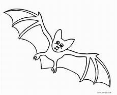 bat coloring page free printable bat