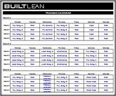 Fitness Log Example Free Workout Log Template That S Printable Amp Easy To Use