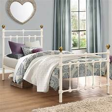 birlea atlas 3ft single metal bed frame atlab3crm