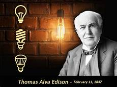 Thomas Edison Light Bulb Great Influencers In Energy Thomas Edison May Not Have