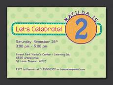 Toddler Birthday Invitation 2nd Birthday Invitation Wording Samples Kids Birthday