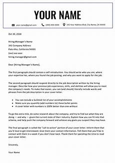 Cover Letter Template Examples Professional Cover Letter Templates Free To Download