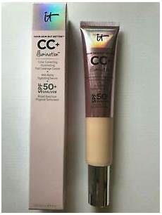 It Cosmetics Supersize Cc Illumination Light 2 53 Fl Oz It Cosmetics Cc Illumination W Spf 50 Huge Super Size