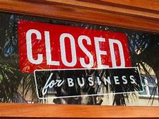 Closed For Business Sign Closed For Business Named A Top 100 Bar Of Sc
