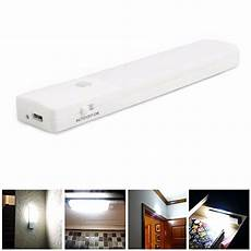 usb rechargeable led cabinet light motion