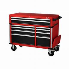 milwaukee 46 in 10 drawer roller cabinet tool chest