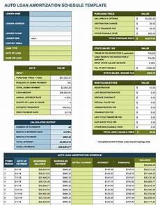 Loan Amortization Sheet Free Excel Amortization Schedule Templates Smartsheet
