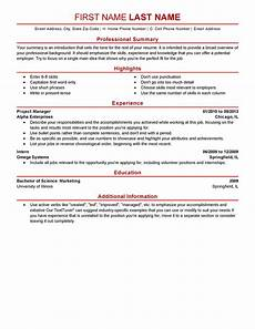 What Goes On A Resume Modern 5 Resume Templates To Impress Any Employer Livecareer