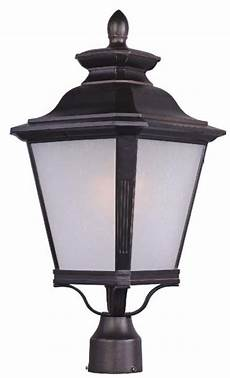 Led Outdoor Post Light Fixtures Knoxville 1 Light Outdoor Pole Post Lantern Outdoor
