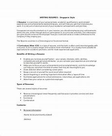 Writing Resumes Examples Free 7 Resume Writing Examples Amp Samples In Pdf Doc